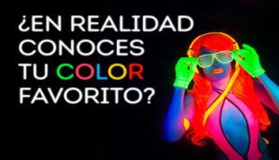 Tu color favorito revela mucho sobre tu personalidad