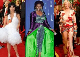 Ellas recibieron duras críticas por lucir estos vestidos