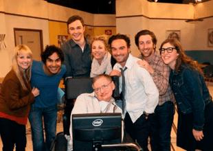 Los actores de The Big Bang Theory también colocaron mensajes en sus redes sociales
