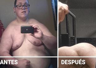 Su cambio físico es impresionante.