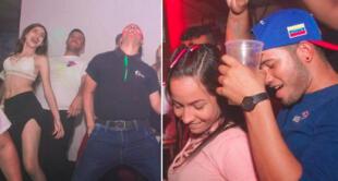 Así son las fiestas de integración de esta discoteca.