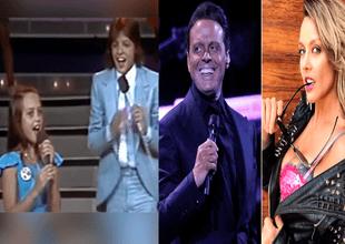 Luis Miguel compartió escenario con Fey en un concurso de canto donde él era jurado y la artista pop, una participante