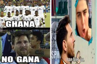 Estos son los memes que provocó el Argentina vs. Islancia.