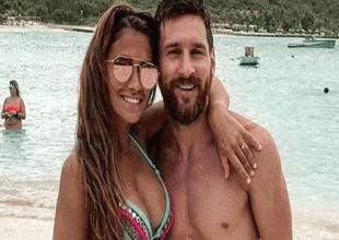 Antonella Rocuzzo le mandó un tierno mensaje a Lionel Messi.