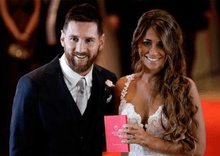 Antonella Rocuzzo envió un tierno mensaje a Lionel Messi a través de sus redes sociales.