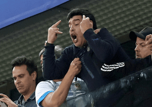 Diego Maradona  dejará de recibir una cuantiosa cifra de dinero luego de que la FIFA le retirara los beneficios como embajador de Rusia 2018