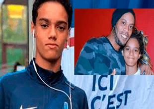El hijo de Ronaldinho estaría pretendido por el importante club Paris Saint Germain