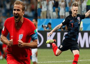 Inglaterra y Croacia se enfrentarán este miércoles 11 de junio por su pase a la final de Rusia 2018