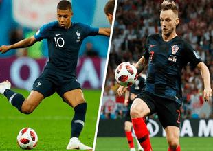 El duelo entre Francia y Croacia, que definirá al campeón mundial de Rusia 2018, será este domingo 15 de junio a las 10:00 a.m.