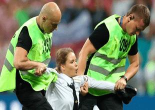 Un grupo de cuatro personas sorprendieron al mundo cuando interrumpieron la final del torneo.