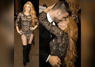 Shakira y Gerard Piqué lucen muy enamorados.