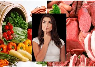 Joven mostró cómo ha cambiado la apariencia de su rostro tras dejar la dieta vegana