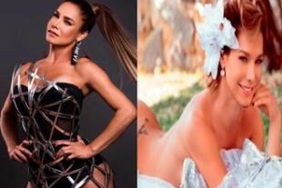 La sexy cubana no dejó nada para la imaginación.