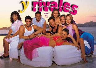 """Actores de recordada novela """"Amigas y rivales"""" se reunieron en televisión después de 17 años."""