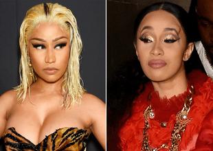 Nicki Minaj y Cardi B protagonizaron escandalosa pelea en fiesta de Nueva York
