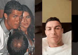Cristiano Ronaldo realizó un video en vivo en su cuenta de instagram donde negó las acusaciones.