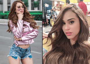 Yanet García elevó la temperatura en Instagram tras convertirse en un sexy angelito.