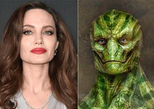 Angelina Jolie es una reptiliana para muchas personas.