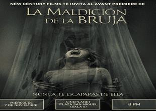 Aweita le llevará a vivir la máxima experiencia con la película: La Maldición de la Bruja.