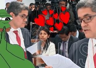 Fanática del fiscal José Domingo Pérez crea canción de amor y es todo un éxito.