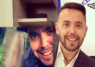 Mauricio Clark mostró fotografías en Instagram con las que prueba que la Virgense le apareció.