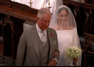El príncipe Harry reveló lo que dijo el príncipe Carlos cuando acompañó a Meghan Markle al altar.