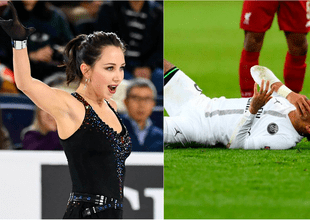 Elizaveta Tuktamýsheva se burló de las caídas de Neymar con sarcástico comentario