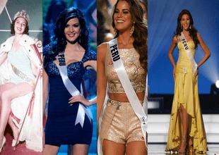 Mira la lista de candidatas peruanas que han ganado el Miss Universo o han logrado entrar al top de las finalistas