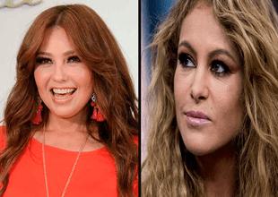 Thalía cambia de look, pero lo llena de filtros y fans la comparan con Paulina Rubio.