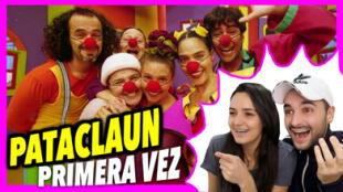 Españoles reaccionan al ver Pataclaun por primera vez.