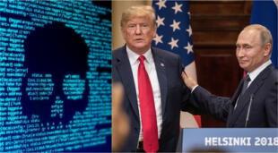 Trump confirmó que condujo un ataque cibernético en contra de la Agencia de Investigación de Internet. | Fuente: Composición.