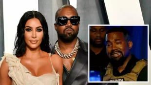 """kim kardashian quiso encerrarme"": Kanye West desata polémica por sus mensajes de Twitter (FOTOS)"