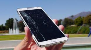 Los smartphones con este nuevo cristal protector tendrán una resistencia a caídas insuperable. | Fuente: MendozaPost