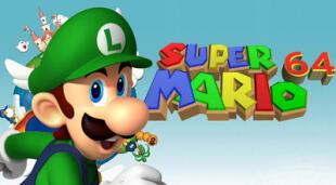 Luigi, el hermano menor de la mascota de Nintendo, se ha vuelto tendencia en redes sociales tras la filtración del código fuente de Super Mario 64.   Fuente: Nintendo.