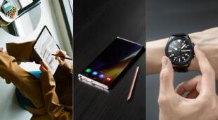La firma surcoreana ya ha presentado las novedades que tienen para 2020, incluyendo la poderosa serie Galaxy Note 20. | Fuente: Samsung.