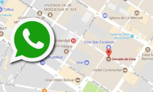 Con este sencillo truco podrás saber si te enviaron una ubicación falsa en WhatsApp