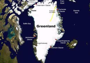Equipo de científicos afirma que el hielo en Groenlandia seguirá desapareciendo así se pare el calentamiento global