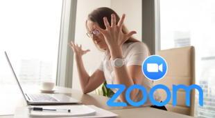 La caída de Zoom ha generado la interrupción de las actividades diarias de estudiantes, maestros y trabajadores alrededor del mundo.   Fuente: Composición.