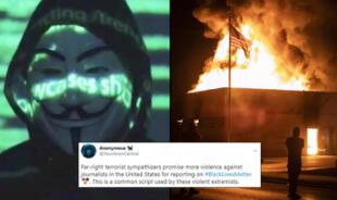 ¿Anonymous regresa? Grupo de hackers se pronuncia sobre el caso de Jacob Blake