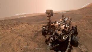 ¿Actividad paranormal? NASA revela que rover Curiosity captó un diablo de polvo en el planeta Marte (VIDEO)