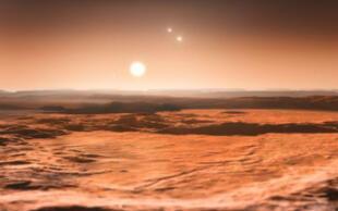 ¡Como en la ciencia ficción! Astrónomos anuncian que descubrieron un sistema solar con tres estrellas (FOTOS)