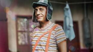 'Doña Florinda' comparte foto inédita de Chespirito en el set del Chavo del 8