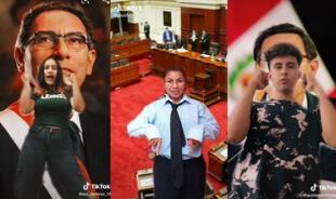 #VizcarraChallenge: El reto viral de TikTok sobre la vacancia que muchos jóvenes están haciendo