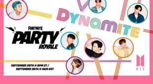 La estrella del nuevo Fortnite Party Royale fue anunciada y se trata de nada más y nada menos que BTS. | Fuente: Epic Games.
