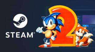 Sonic the Hedgehog 2 está disponible de forma gratuita para PC a través de Steam./Fuente: Composición.