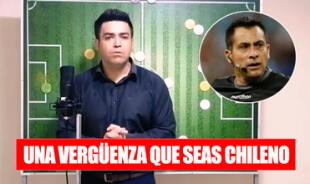 'Bascuñán es una vergüenza para los chilenos': Youtuber chileno critica a árbitro