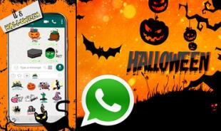 Los mejores stickers de Halloween para WhatsApp.