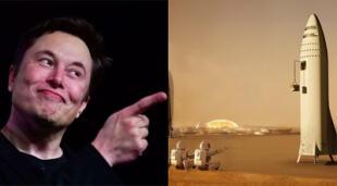 El siempre controversial magnate indicó que la Colonia de Marte tendrá principios de autogobierno cuando se establezca en la superficie del Planeta Rojo./Fuente: Composición.
