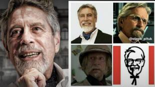Sagasti-verso: Cientos de peruanos comparan al nuevo presidente con diversos personajes famosos