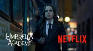 El actor continuará desempeñando el rol de Vanya Hargreeves en la tercera temporada de The Umbrella Academy./Fuente: Netflix.